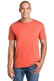 Softstyle Ring Spun Cotton T-shirt Heather Orange Thumbnail