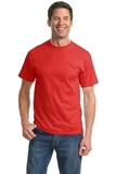 Tall Essential T-shirt Fiery Red Thumbnail
