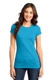 District Juniors Very Important Tee Light Turquoise Thumbnail