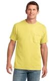 5.4-oz 100 Cotton Pocket T-shirt Yellow Thumbnail
