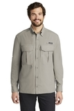 Eddie Bauer Long Sleeve Performance Fishing Shirt Driftwood Thumbnail