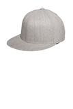 Flexfit Flat Bill Cap Heather Grey Thumbnail