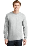 Dryblend 50 Cotton/50 Dryblend Poly Long Sleeve T-shirt Ash Grey Thumbnail