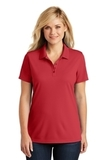 Women's Dry Zone UV MicroMesh Polo Rich Red Thumbnail