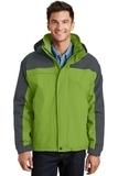 Nootka Jacket Bright Pistachio with Graphite Thumbnail