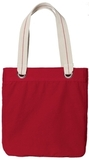 Allie Tote Sangria with Charcoal Thumbnail