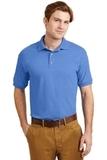Ultra Blend 5.6-ounce Jersey Knit Sport Shirt Carolina Blue Thumbnail