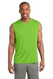 Sleeveless Competitor Tee Lime Shock Thumbnail