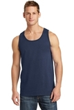 5.4 oz. 100% Cotton Tank Top Navy Thumbnail