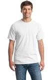 Heavy Cotton 100 Cotton T-shirt White Thumbnail