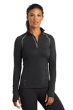 Women's Ogio Endurance Nexus 1/4-zip Pullover Blacktop Thumbnail