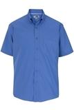 Men's Easy Care Poplin Shirt SS French Blue Thumbnail