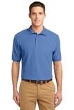 Extended Size Silk Touch Polo Shirt Ultramarine Blue Thumbnail