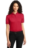 Women's Dry Zone Ottoman Polo Shirt Engine Red Thumbnail