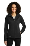 Women's Eddie Bauer Trail Soft Shell Jacket Black with Black Thumbnail
