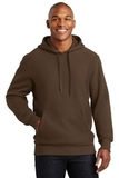 Super Heavyweight Pullover Hooded Sweatshirt Brown Thumbnail