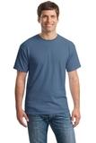 Heavy Cotton 100 Cotton T-shirt Indigo Blue Thumbnail