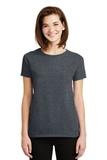 Women's Ultra Cotton 100 Cotton T-shirt Dark Heather Thumbnail