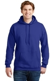 Ultimate Cotton Pullover Hooded Sweatshirt Deep Royal Thumbnail