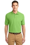 Extended Size Silk Touch Polo Shirt Lime Thumbnail