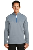 Nike Golf Therma-FIT Hypervis 1/2-Zip Cover-Up Cool Grey with Photo Blue Thumbnail