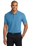 Tall Stain-resistant Polo Shirt Celadon Blue Thumbnail