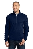 Microfleece 1/2-zip Pullover True Navy Thumbnail