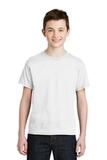 Youth Ultra Blend 50/50 Cotton / Poly T-shirt White Thumbnail