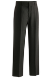 Men's Pleated Front Pant Charcoal Thumbnail