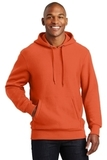 Super Heavyweight Pullover Hooded Sweatshirt Orange Thumbnail