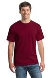 Heavy Cotton 100 Cotton T-shirt Garnet Thumbnail