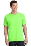 5.5-oz 100 Cotton T-shirt Neon Green Thumbnail