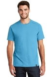 New Era Heritage Blend Crew Tee Sky Blue Thumbnail