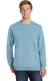Essential Pigment-Dyed Crew-Neck Sweatshirt Mist Thumbnail