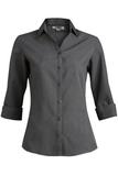 Women's Batiste 3/4 Sleeve Steel Grey Thumbnail