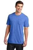 Young Men's Very Important Tee With Pocket Heathered Royal Thumbnail
