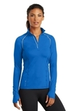 Women's Ogio Endurance Nexus 1/4-zip Pullover Electric Blue Thumbnail