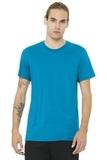 BELLACANVAS Unisex Jersey Short Sleeve Tee Aqua Thumbnail