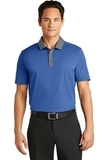 Nike Golf Dri-FIT Heather Pique Modern Fit Polo Blue Heather Thumbnail