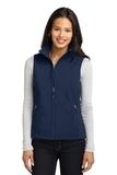 Women's Core Soft Shell Vest Dress Blue Navy Thumbnail