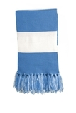 Spectator Scarf Carolina Blue with White Thumbnail