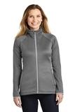 Women's The North Face Canyon Flats Stretch Fleece Jacket TNF Medium Grey Heather Thumbnail