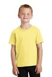 Youth 5.5-oz 100 Cotton T-shirt Yellow Thumbnail