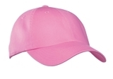 Garment-washed Cap Bright Pink Thumbnail