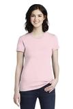 Women's Fine Jersey T-Shirt Light Pink Thumbnail