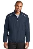 Zephyr Reflective Hit FullZip Jacket Dress Blue Navy Thumbnail