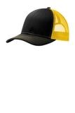 Snapback Trucker Cap Black with Gold Thumbnail