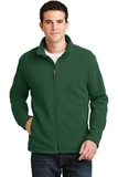Value Fleece Jacket Forest Green Thumbnail