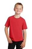 Youth Fan Favorite Tee Bright Red Thumbnail