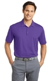 Nike Golf Dri-FIT Vertical Mesh Polo Court Purple Thumbnail